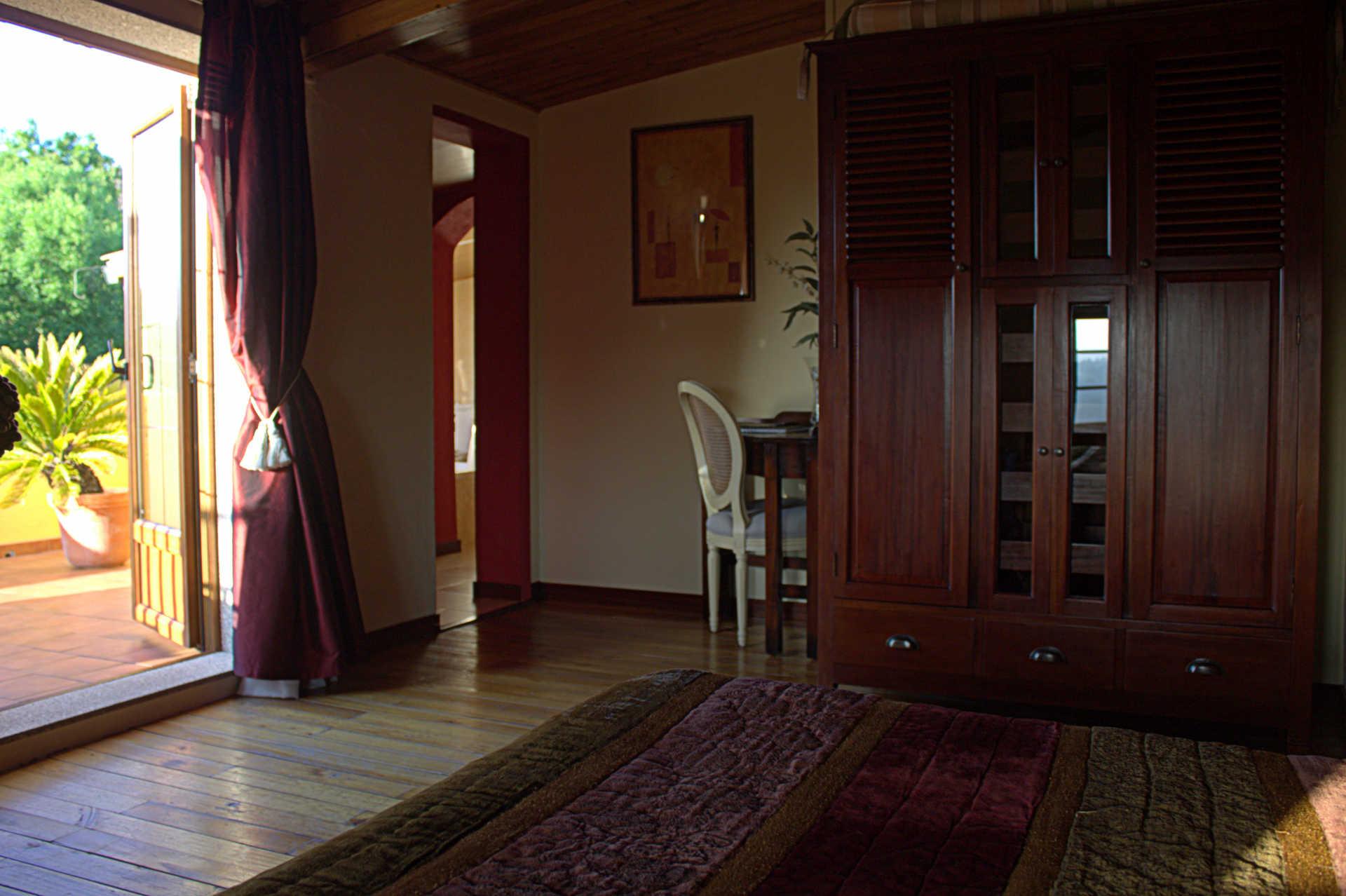 Habitacion doble Atalaia muy amplia casa rural