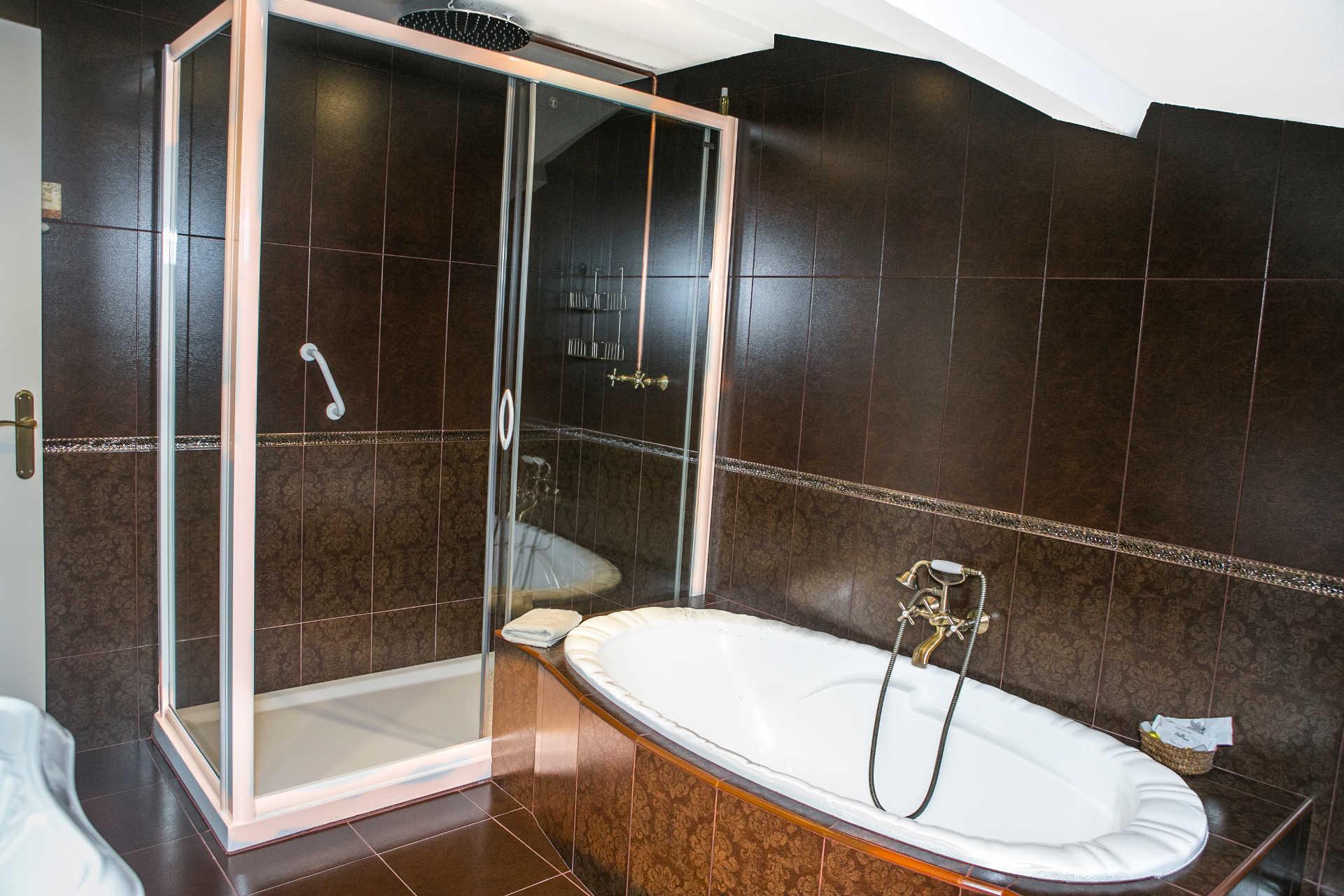 Habitacion doble Miradoiro con banera casa rural