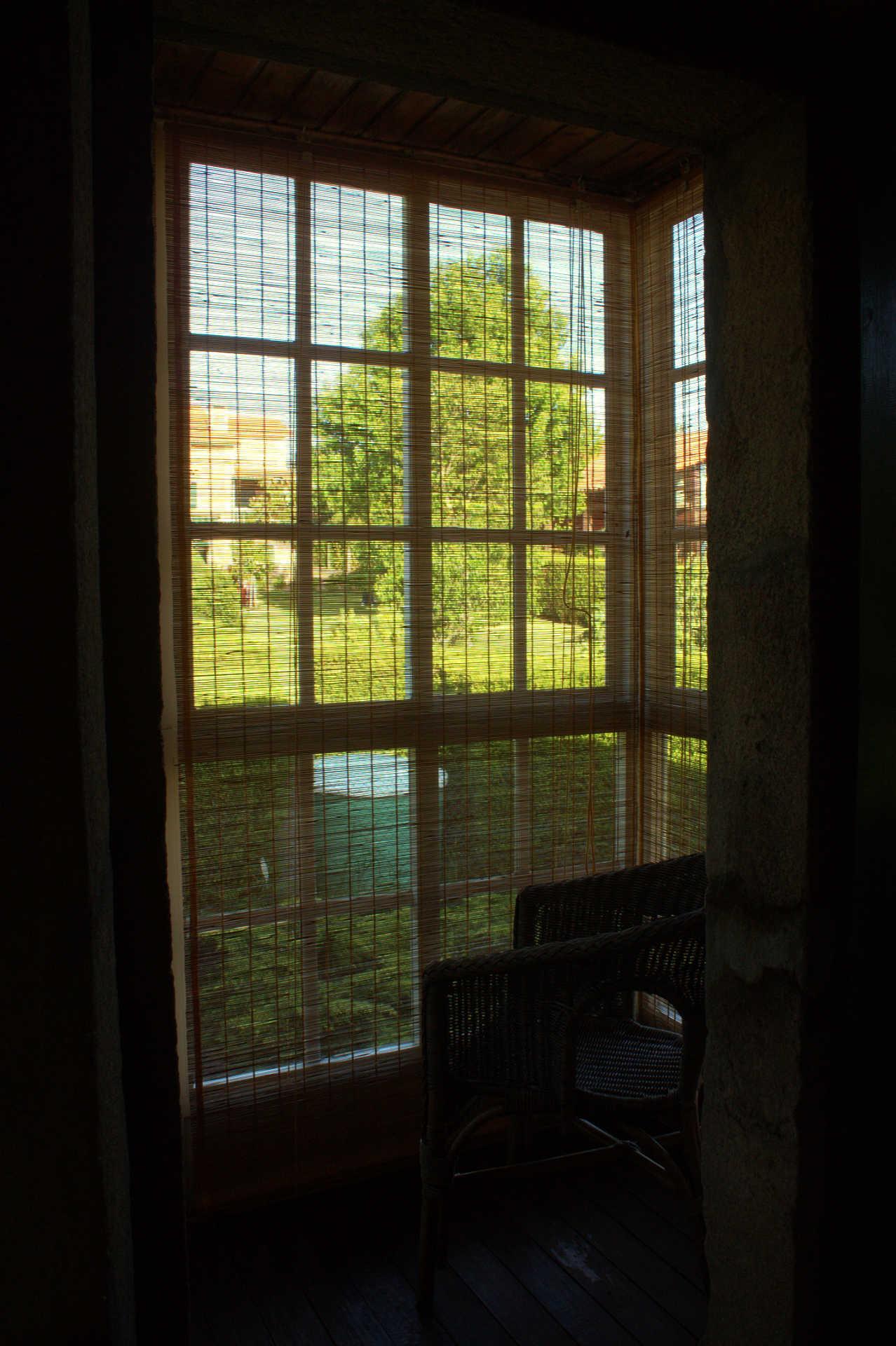 Galeria Habitacion doble Outeiro con Galeria casa rural As Seis Chemineas