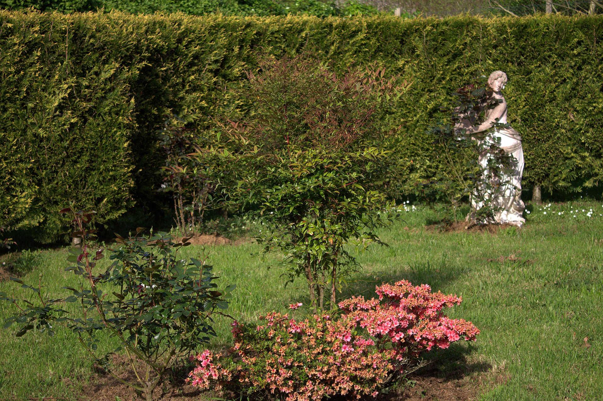 Jardines exteriores plantas casa rural as seis chemineas