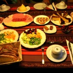 Desayuno en casa rural en Santiago de Compostela